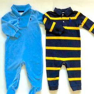 RALPH LAUREN BABY BOY  2 PIECES SIZE 9 MONTH